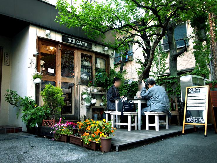 いろんなところで金魚が感じられる、とってもユニークなカフェ。<span>金魚CAFE(キンギョカフェ)@代々木<span>