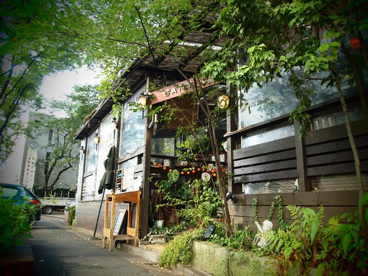かわいいワンコと戯れることができる、アジアンテイストたっぷりなカフェ。<span>CANTIK(チャンティック)@渋谷</span>