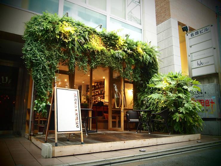 アジアの異国を思わせる、ナチュラルさと温かさを感じるカフェ。<span>hiki cafe(ヒキカフェ)@渋谷</span>