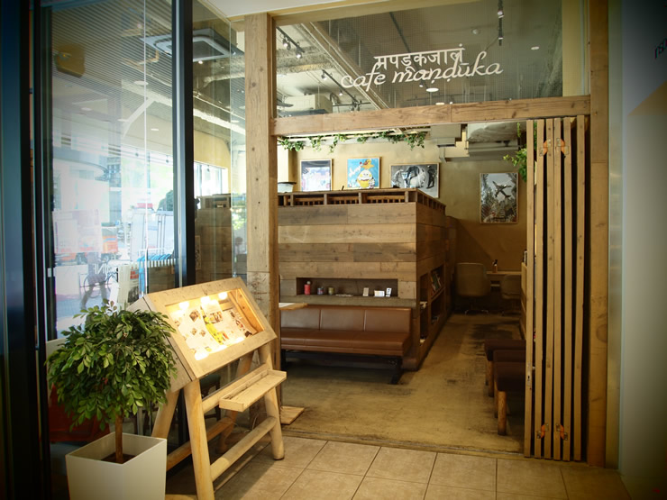 ナチュラルさとリラックスできる空間が広がる、モダンなエスニックカフェ。<span>cafe manduka(カフェ マンドゥーカ)@渋谷</span>