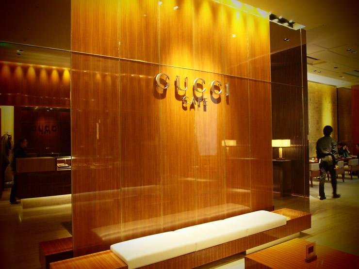 銀座の街で一度は行ってみたい、高級ブランドショップが運営するプチ贅沢カフェ。<span>GUCCI CAFE(グッチ・カフェ)@銀座</span>