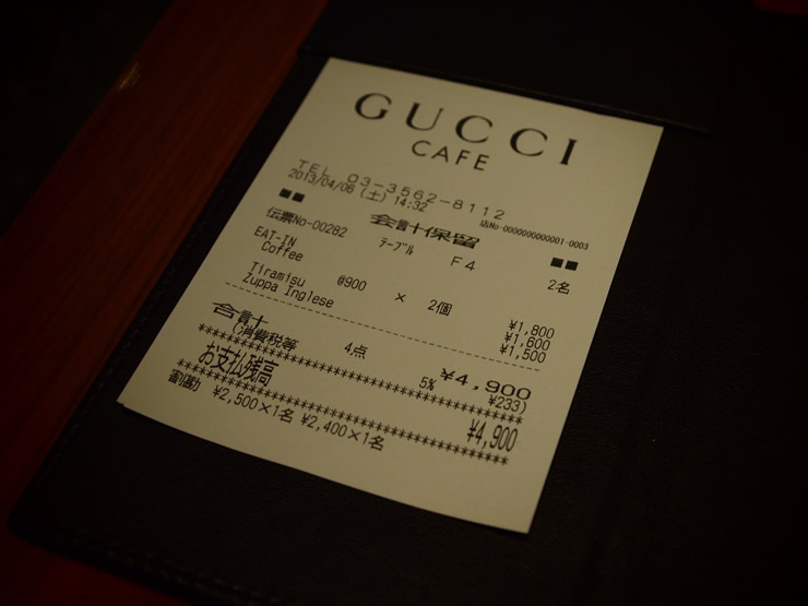 GUCCI CAFE(グッチ・カフェ)